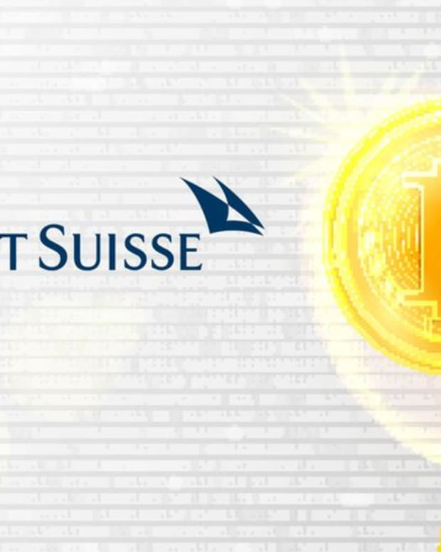 Investing - Credit Suisse Argues Irrational Exuberance Around ICOs Indicates Bitcoin Bubble