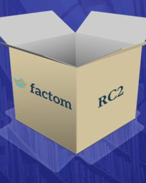 Op-ed - Factom Launches Release Candidate 2 in Preparation for Beta