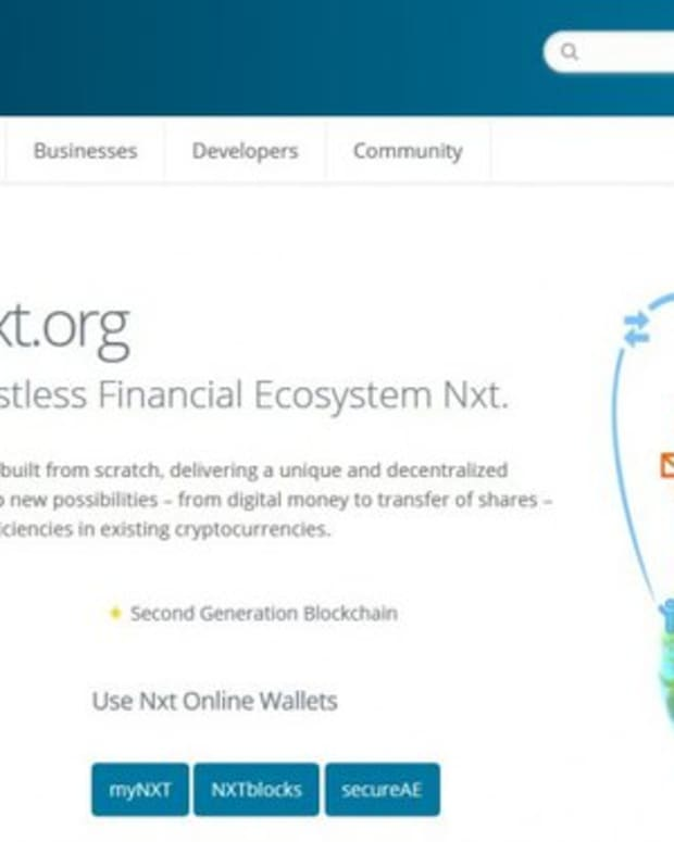 Op-ed - Nxt: The Original Bitcoin 2.0 Platform With Smart Contracts