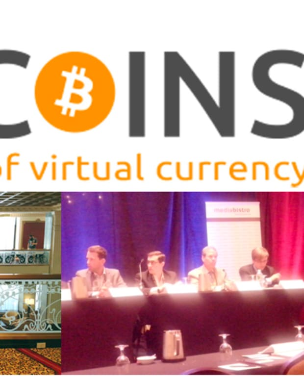 Op-ed - 2013 NYC Inside Bitcoins Conference: When Venture Capitalist Meets Bitcoin