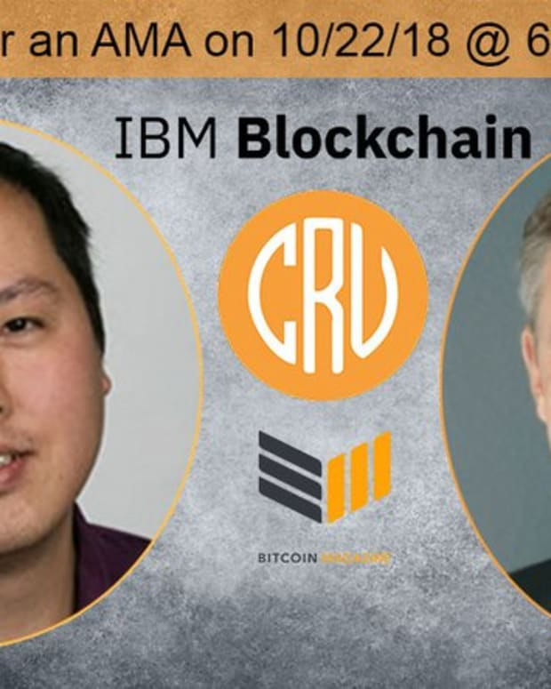 Op-ed - An AMA on the Future of Blockchain and Cryptocurrency: With IBM Blockchain's Jesse Lund