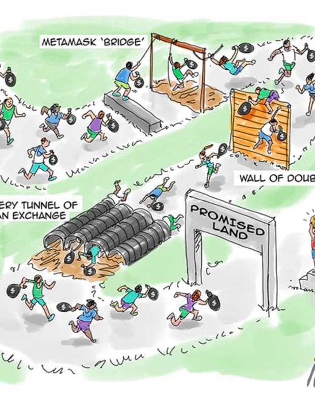 Investing - Cartoon: Obstacle Course