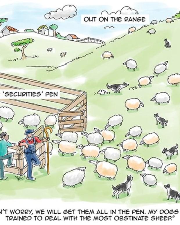 Regulation - Cartoon: Distorting Mirrors