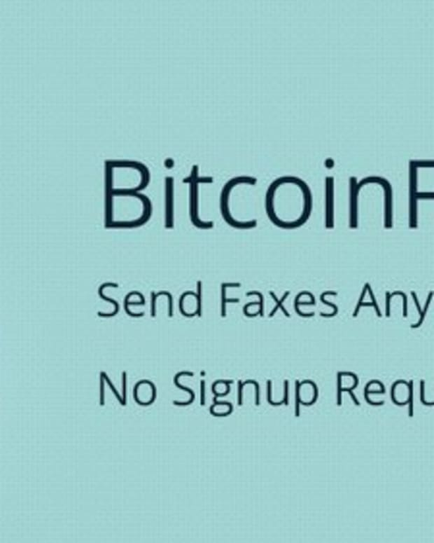 Op-ed - Bitcoin Fax: a Simple and Efficient Use Case for Bitcoin Micropayments