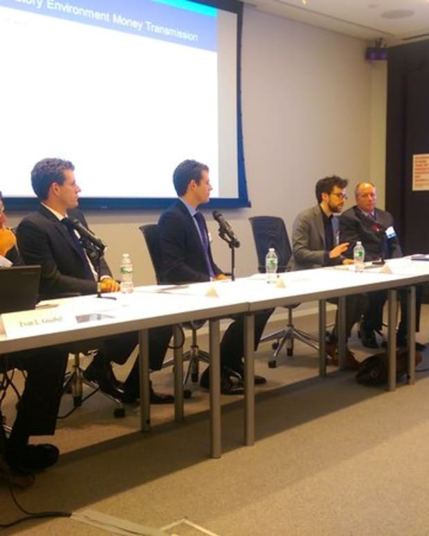 Op-ed - Kaye Scholer Holds Bitcoin Seminar with Winklevosses to Educate Financial Professionals