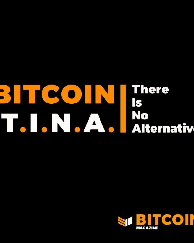 Bitcoin TINA on Bitcoin Magazine Podcast