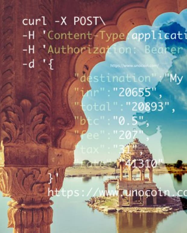 "Payments - Unocoin's New API Marks ""Exciting Times"" for Blockchain Innovation in India"