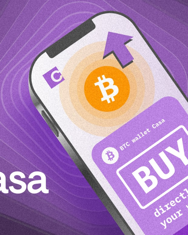 Bitcoin custody provider Casa will now allow users to purchase bitcoin directly to their wallets, without having to go through an exchange.