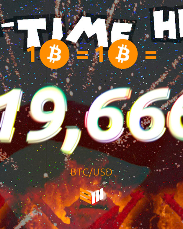 According to data from Bitstamp, the USD price of 1 BTC has eclipsed its previous all-time high of $19,666 set on December 13, 2017.