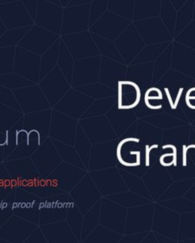 Ethereum - New Grants Announced for Developers Working on Ethereum-based Projects