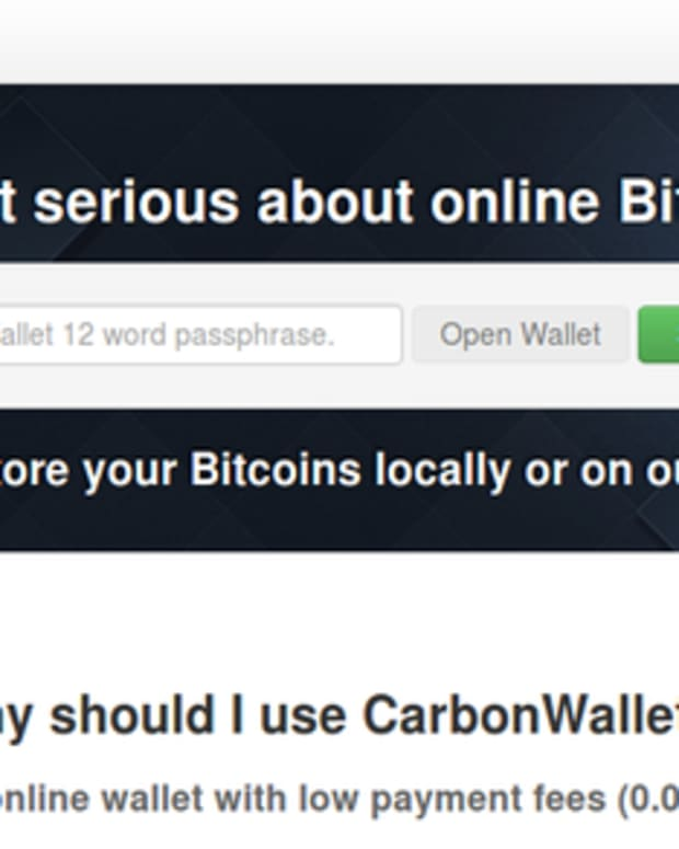 Op-ed - Introducing Carbon Wallet