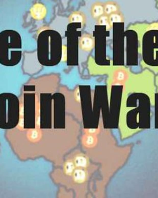 Op-ed - Rise of the Altcoin Wars