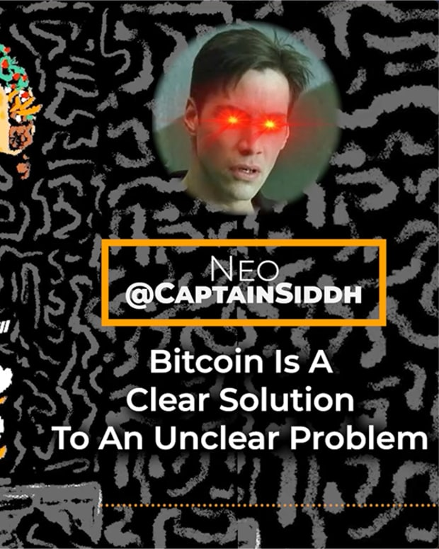 Discussing the problems that Bitcoin solves with Captain Sidd.