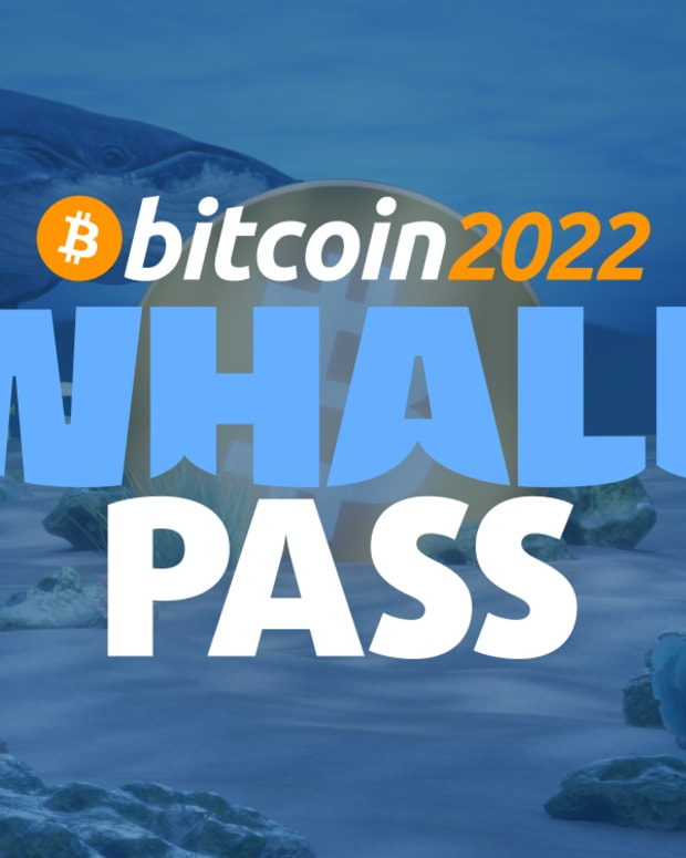 The biggest Bitcoin event in history is offering exclusive perks, concierge service, indoor lounge access and more through its Whale Pass.