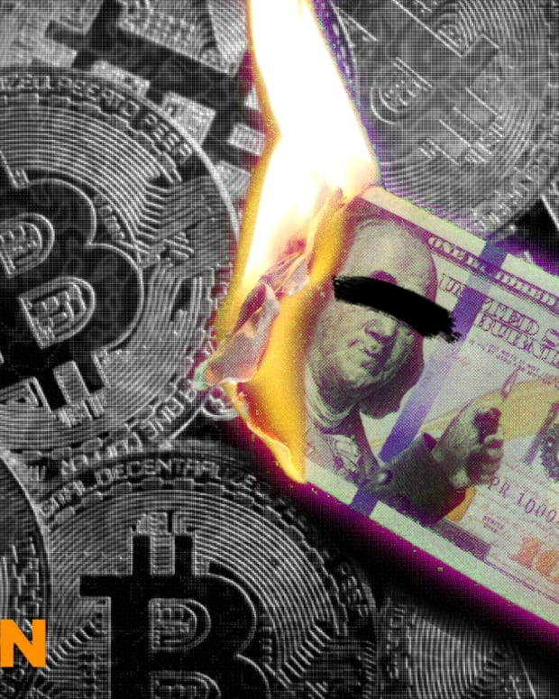 Bitcoin is a superior choice to fiat, like the U.S. dollar, which some enthusiasts would burn if given the chance.