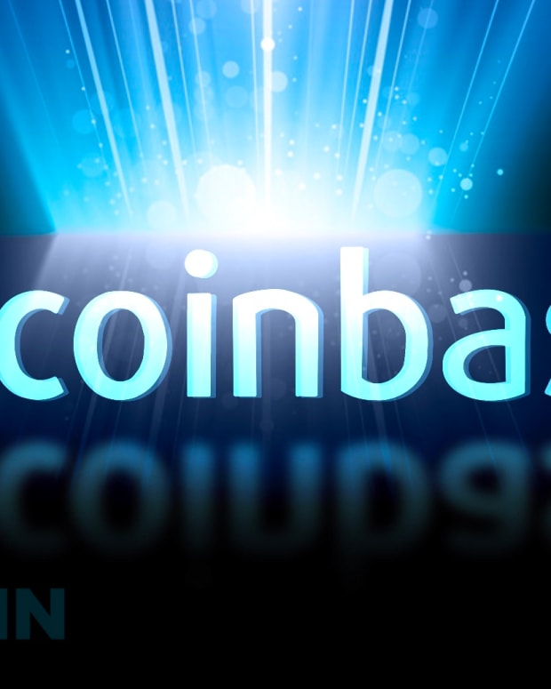 Coinbase is a major cryptocurrency exchange based in the U.S. where users can buy, sell and trade bitcoin (BTC).