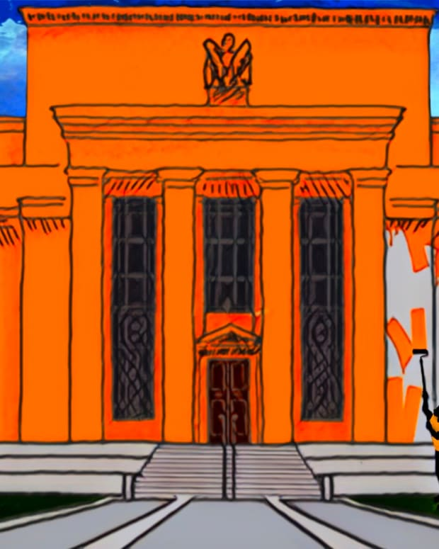 As we enter hyperbitcoinization, legacy financial institutions like the federal reserve or Fed will be painted orange.