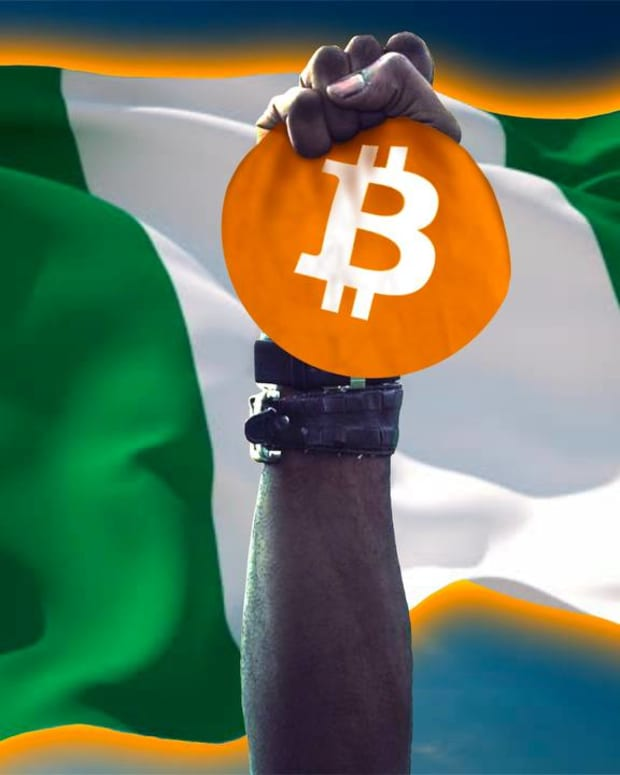 NFL star and Nigerian descendant Russell Okung asks the Nigerian government to adopt a Bitcoin standard or risk falling behind.