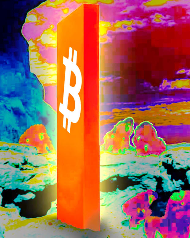 Bitcoin obelisk for hyperbitcoinization.