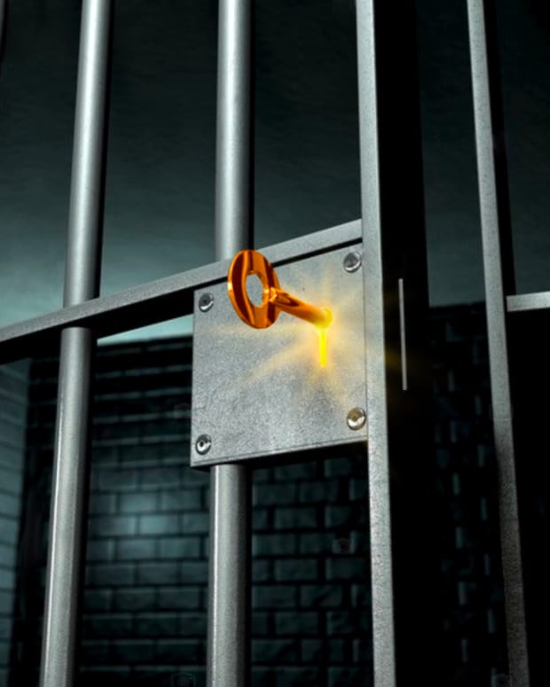 Bitcoin is a key that unlocks a metaphorical prison cell.