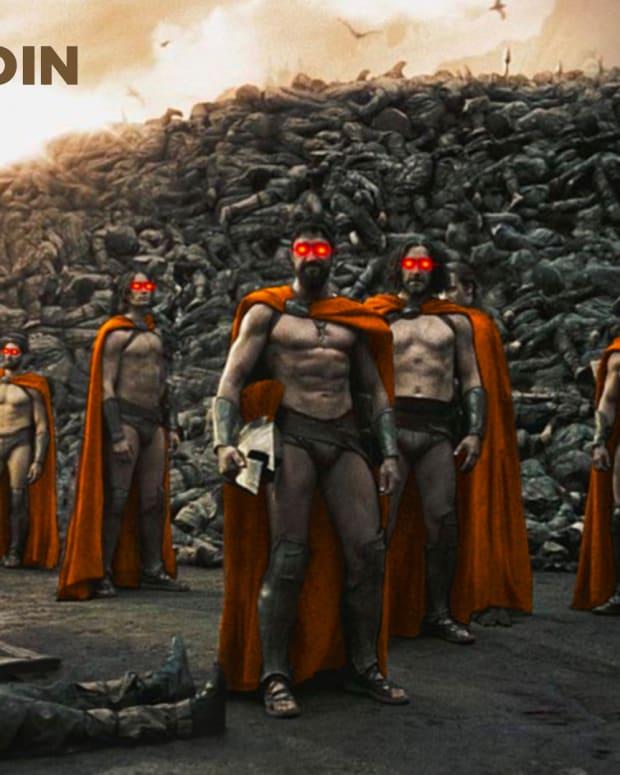 Bitcoin pleb Army, Sparta, ancient Greece, history, war, battle, cyber hornet