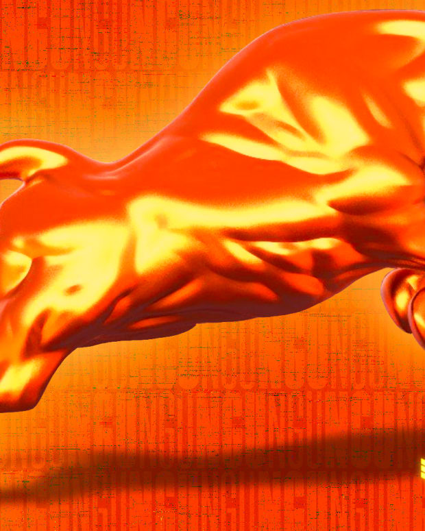 """The """"Number Go Up,"""" or NGU Bull, is about being bullish on the price of bitcoin going up."""