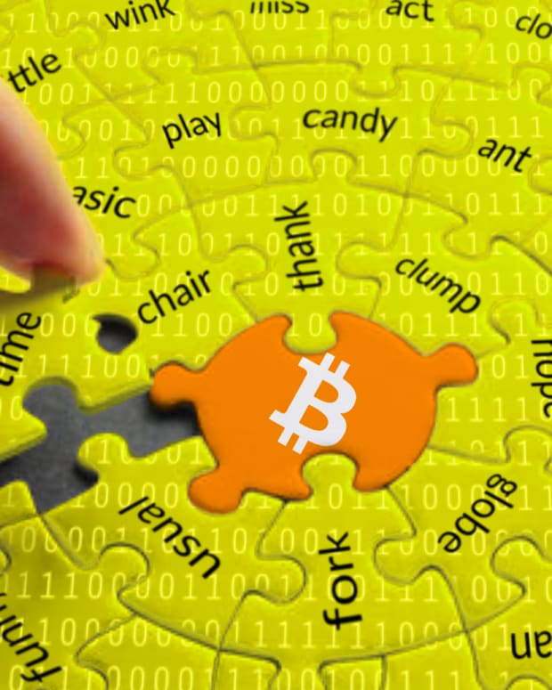 Bitcoin solves problems and is the missing piece of the puzzle because of its blockchain technology.