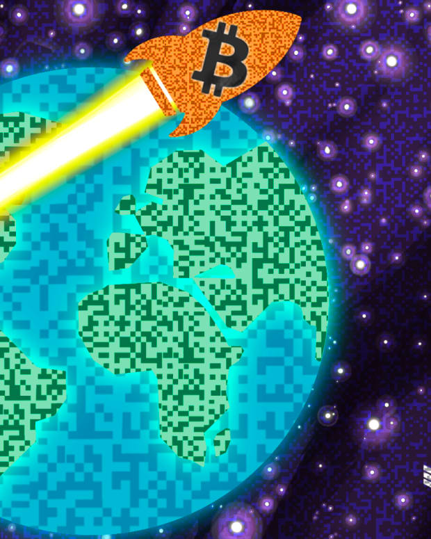 Bitcoin is going to the moon because it is global and all over the world.