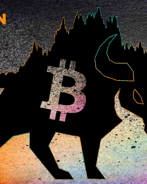 The bitcoin bull represents the most bullish of all things; the price of bitcoin.