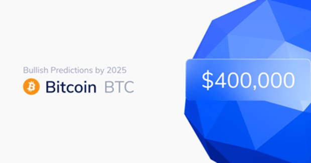 How Bitcoin Could Hit $400,000 By 2025