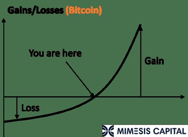 Bitcoin Versus Bonds: Asymmetric Assets