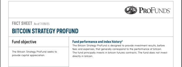 First U.S. Bitcoin Mutual Fund Launched By $60 Billion Fund Manager
