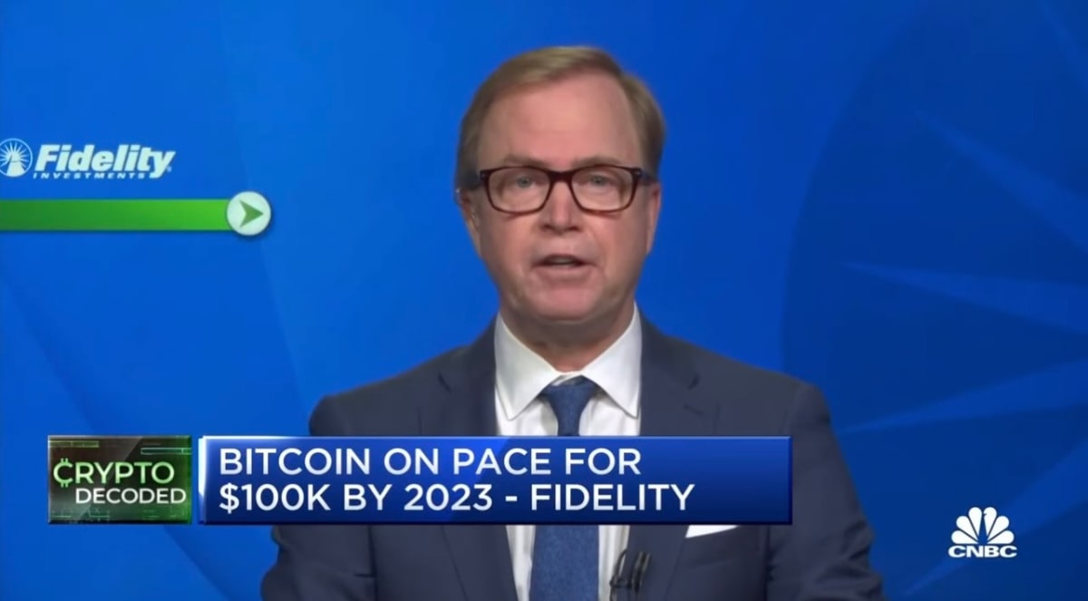 Fidelity Director: $100,000 BTC By 2023, Fails To See Bitcoin Power