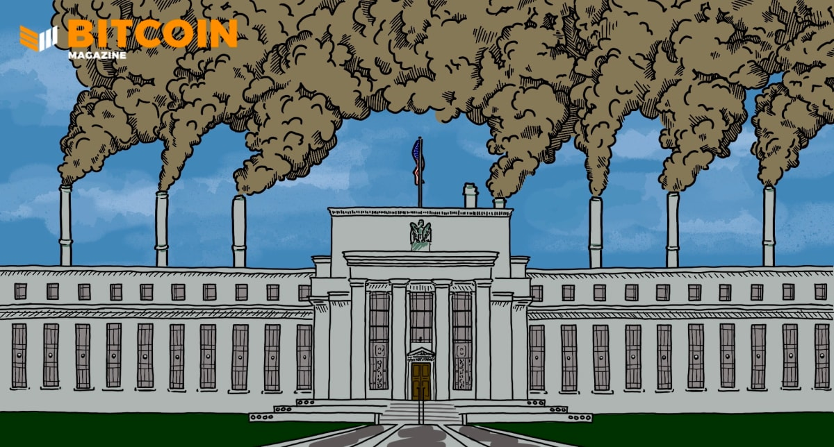Bitcoin Emits Less Than 5% Of The Legacy Financial Sector's Carbon Emissions