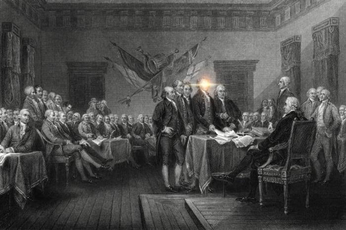 Declaration of Independence, John Trumbull