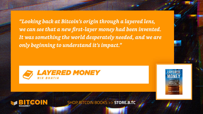 Layered Money is a book about bitcoin and economics