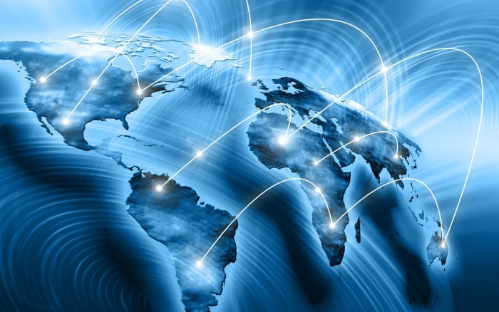 world global connection network