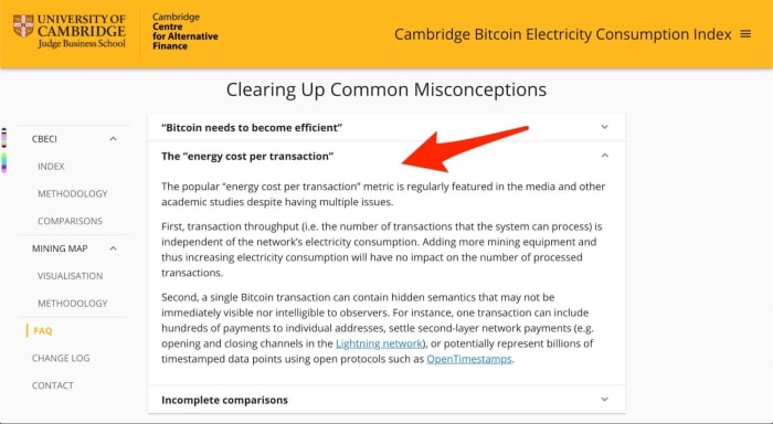 clearing up common misconceprtions cbeci