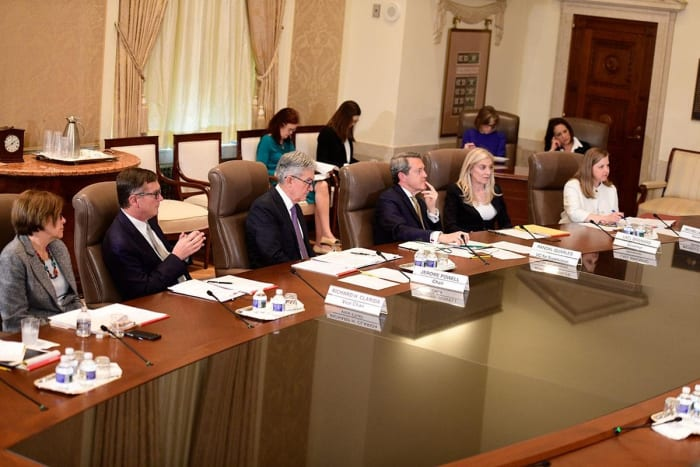 The Federal Reserve Board of Governors April meeting 2019
