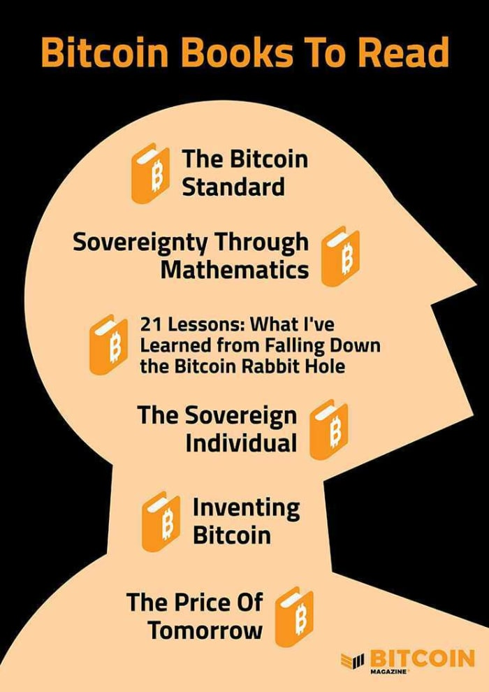 Back to school book shopping guide for learning all about bitcoin.