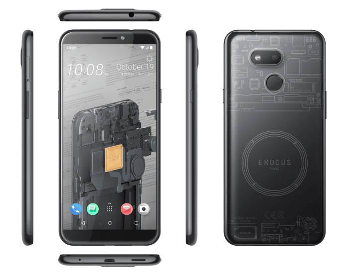 HTC Exodus 1s Gets Shipped With Bitcoin Full Node Feature