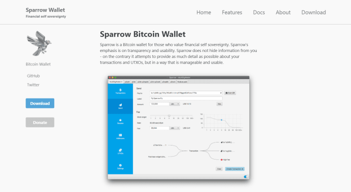 Sparrow Website