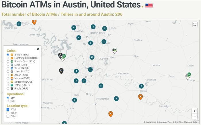 ATM Map