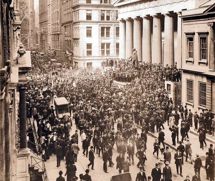 panic of 1907 old photo
