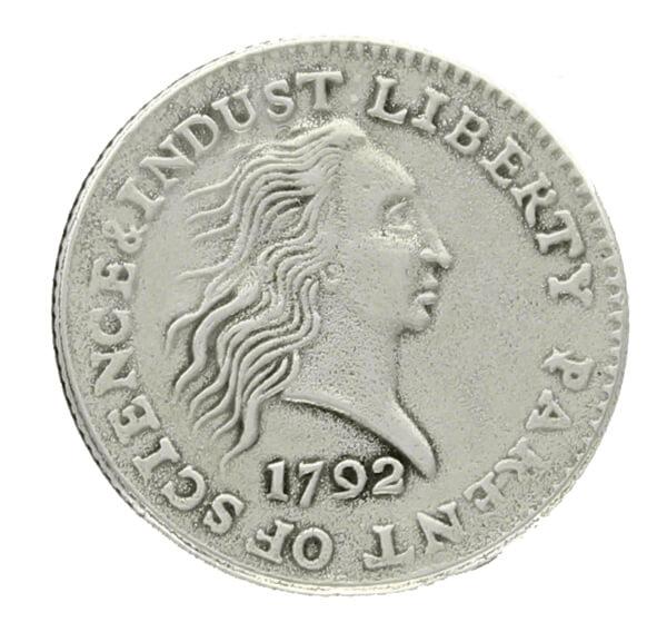 old coin 1972 iron coin