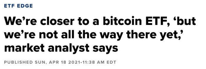 bitcoin etf market analyst