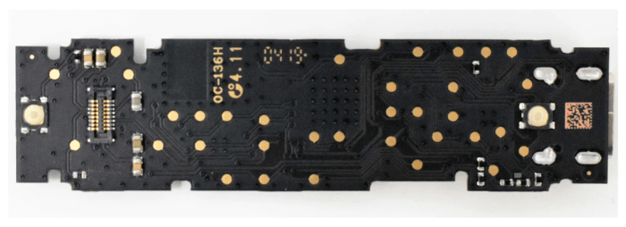 Back of legitimate Ledger hardware wallet. Source: Ledger.