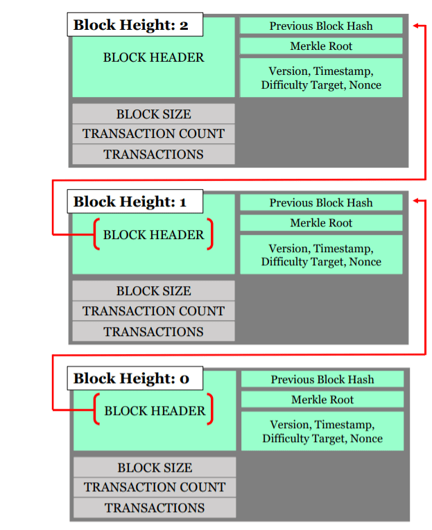 Block height and contents graphic
