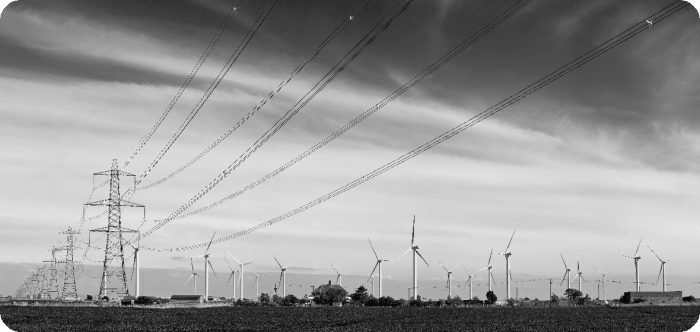 energy power lines conducting electricity