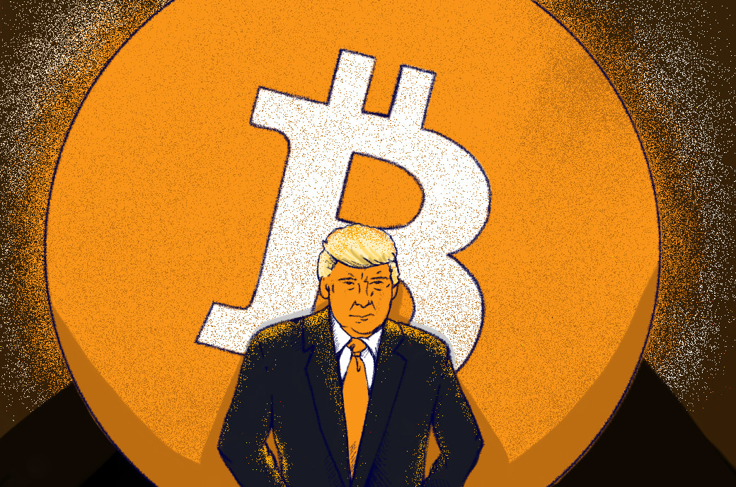 Trump Says Bitcoin Competes With Dollar
